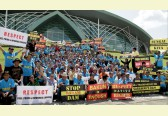 Mass protest against Sarawak dams surprises Hydropower World Congress