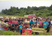 International indigenous anti-dam activists join two year anniversary celebration of Baram Dam blockades