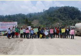 Natives block construction works on mega-dam in Malaysian rainforest