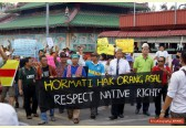 Natives rally with new force against Malaysia's extractive land policy